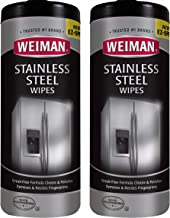 stainless steel cleaner wipes