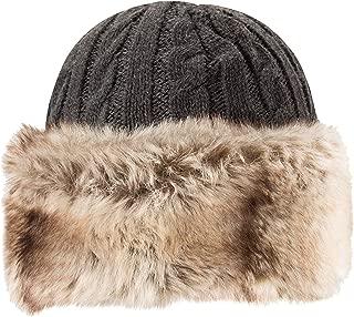 Womens Furry Hat - Warm Ladies Winter Beanie