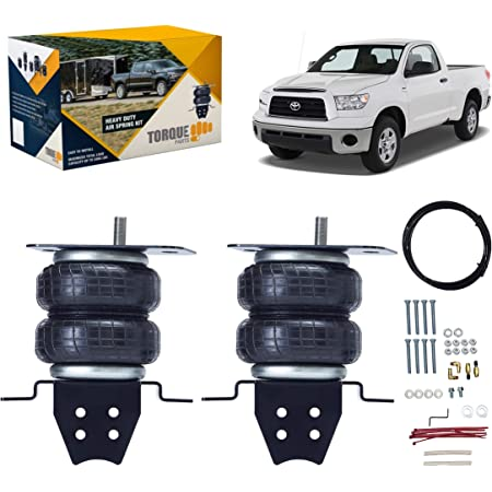 TORQUE Air Bag Suspension Kit for 2007-2021 Toyota Tundra [up to 5,000 lbs. of Load Leveling Capacity] (Replaces Firestone 2445 Ride-Rite) (TR2445)