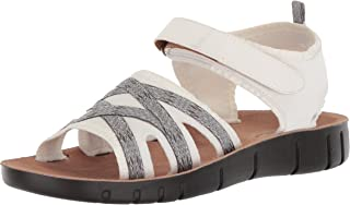 LifeStride Women's Juno Ankle-High Canvas Sandal