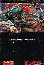 Street Fighter II SNES Instruction Booklet (Super Nintendo Manual Only) (Super Nintendo Manual)