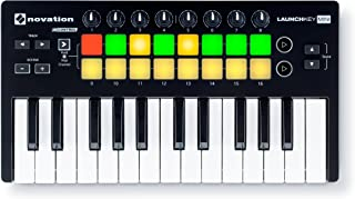 Novation - Launchkey Mini MK2 teclado controlador MIDI - USB