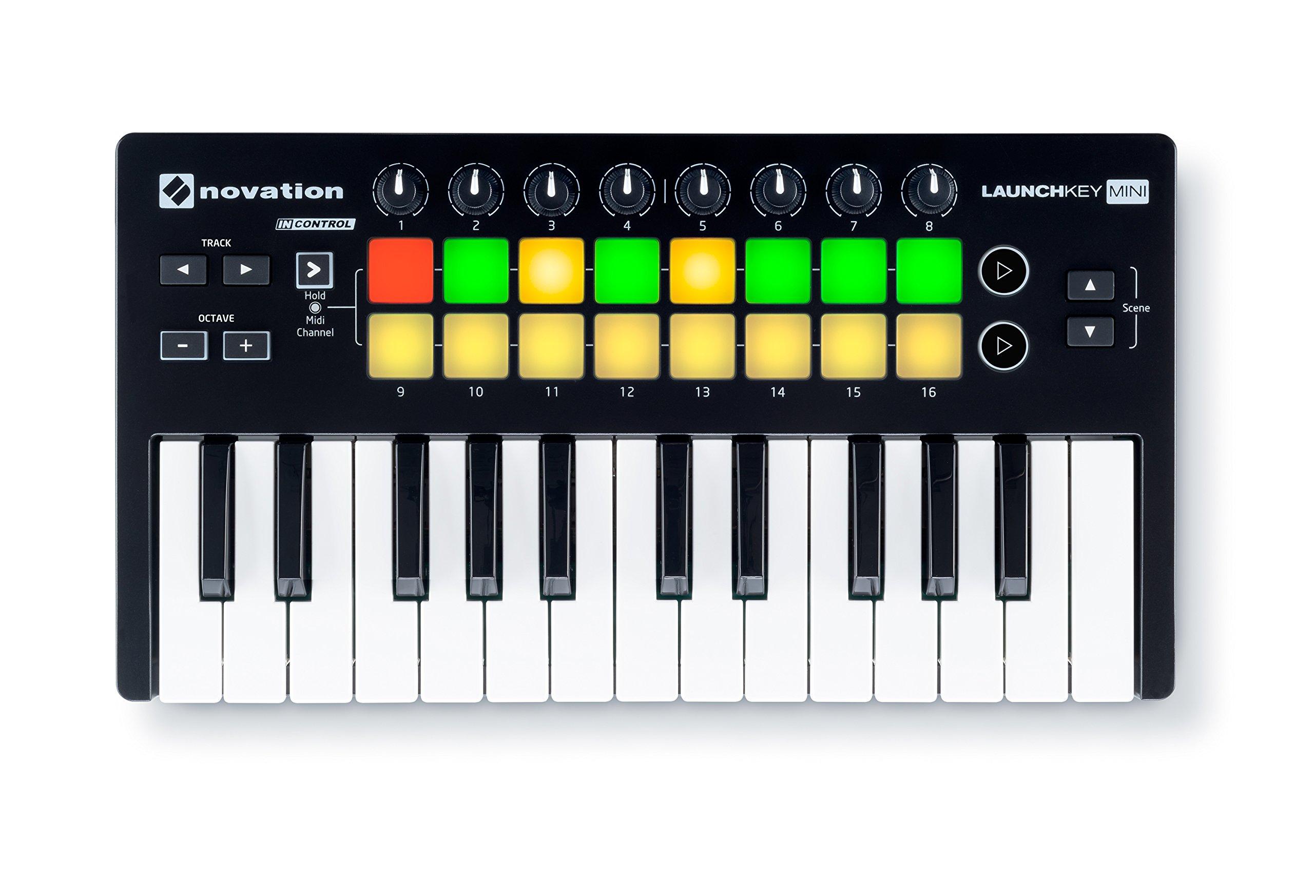 Novation Launchkey 25 Note Keyboard Controller