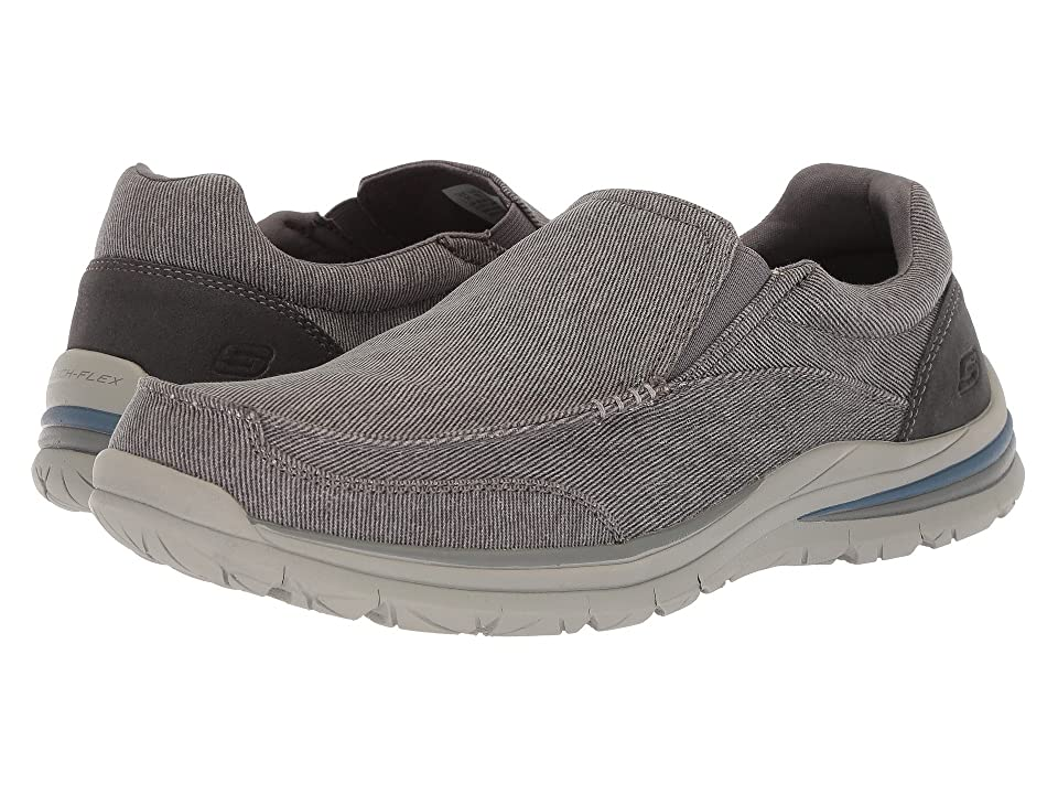 SKECHERS Classic Fit Superior 2.0 Vorado (Charcoal) Men