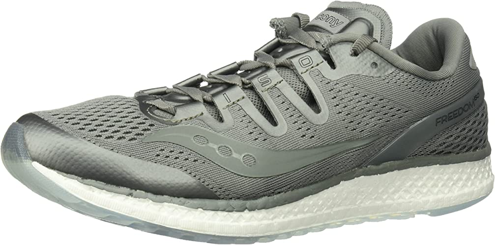 Saucony Libredom ISO Unisex Road FonctionneHommest chaussures, gris, 9 Medium US