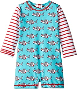 Snorkeling Sharks Rashguard One-Piece (Infant)