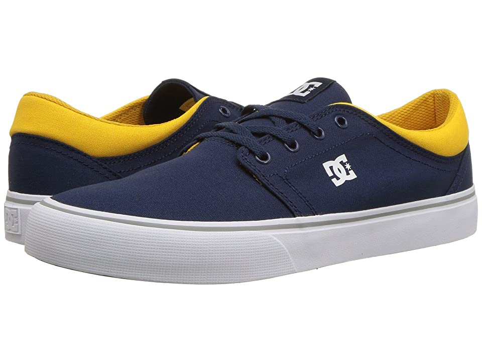 DC Trase TX (Navy/Yellow) Skate Shoes