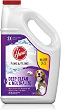 Hoover Paws & Claws Deep Cleaning Carpet Shampoo, Concentrated Machine Cleaner..