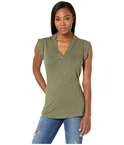 Carve Designs Marcy Top (Olive) Women