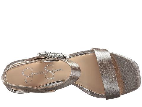 tela Bindy brillo metálico Simpson metálico Silver Shimmer Jessica Rx16nP