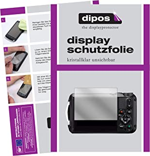 dipos I 2X Protection ecr/án Compatible avec Canon EOS M200 Verre Souple Film Protecteur 9H