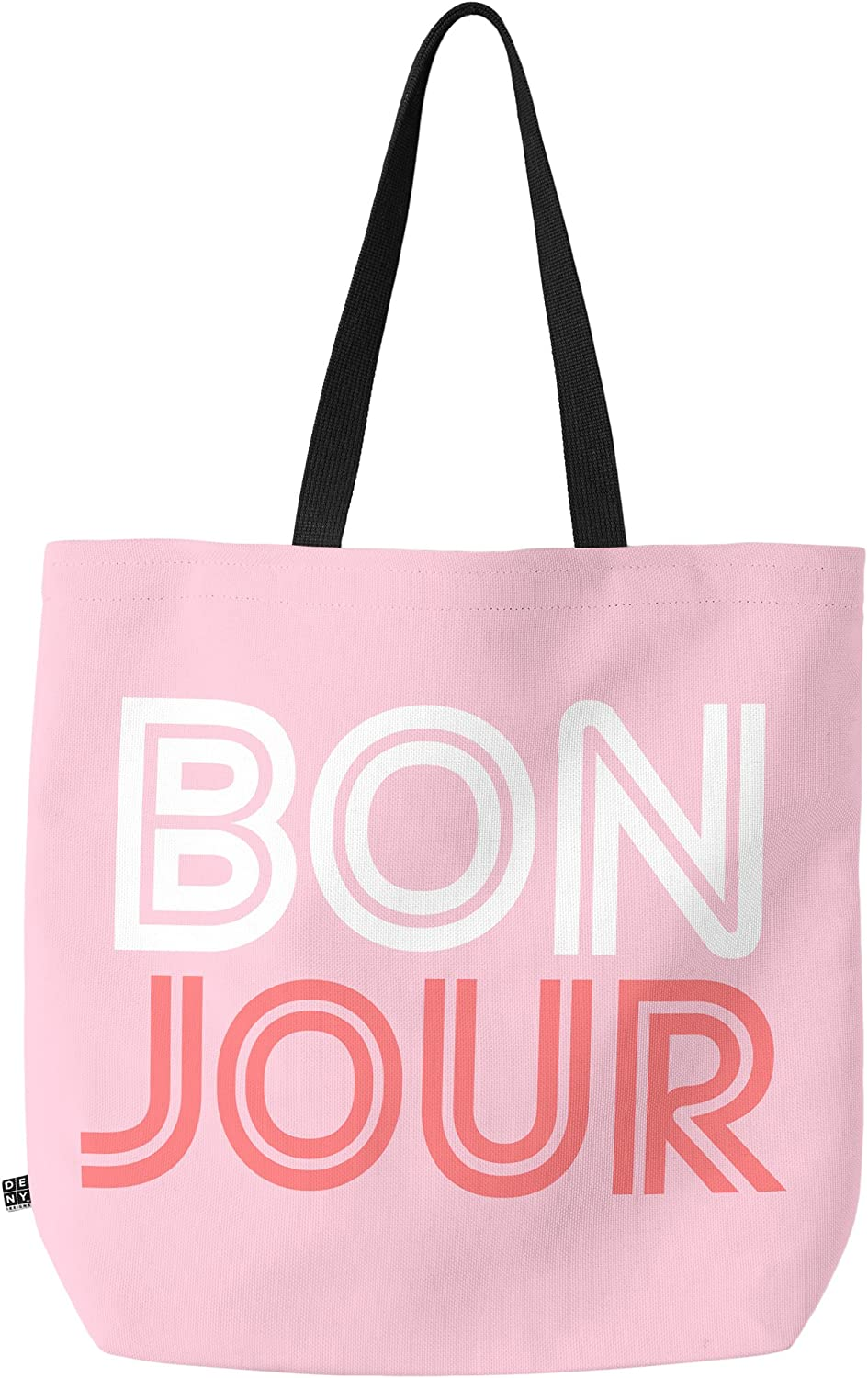 Deny Designs Bonjour Babe Carry All Tote Bag, 18  x 16