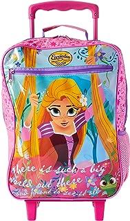 Mochila Escolar G com Rodinhas Rapunzel Plus, 38 X 29 X 14, Dermiwil 52146, Multicor
