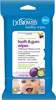 Dr. Browns Tooth & Gum Wipes, 30-Pack HG001