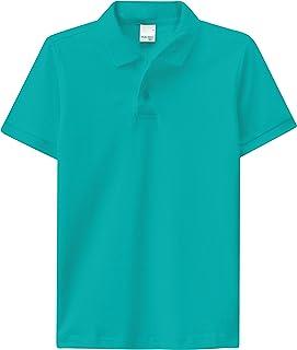 Camisa Polo piquê, Malwee Kids, Meninos