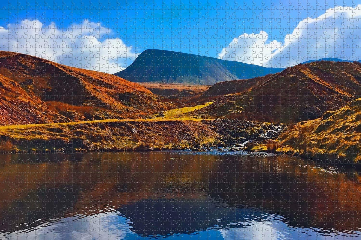 UK England Brechin The Burn Max 60% OFF 1000 Puzzle Piece Excellent Artwor Jigsaw Game