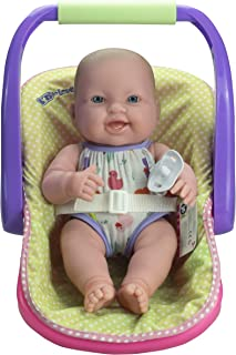"""JC TOYS LOTS TO LOVE BABY DOLL IN ADJUSTABLE CARRIER - Featuring 14"""" all Vinyl doll - Perfect for Children 2+"""