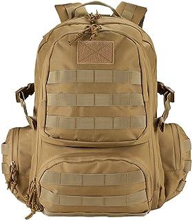 Mochila Táctica 42L 600D, Paquete de Asalto MOLLE de Gran Capacidad para Utilidad Militar, Bolsa de 3 Días para Caza Senderismo Acampada Actividad al Aire Libre