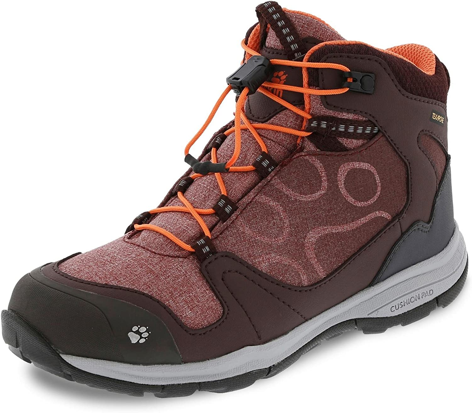 Jack Wolfskin Grivla Texapore shoes Red shoes Size 37 2017