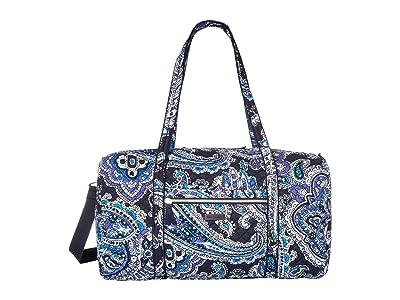 Vera Bradley Lay Flat Travel Duffel (Deep Night Paisley) Bags