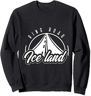 Vintage Rind Road Iceland Travel Sweatshirt, Traveling