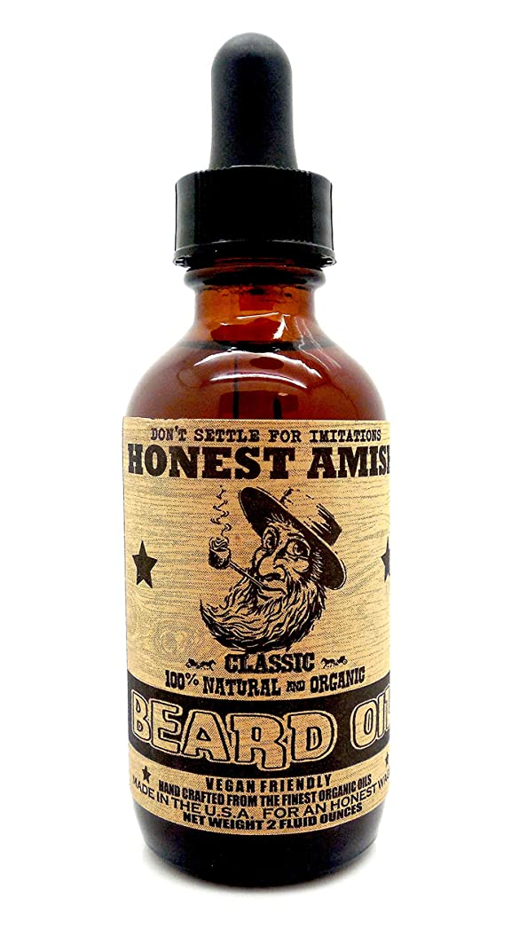 ユーモラスエントリリサイクルするHonest Amish - クラシック 顎髭 オイル 59.15ml