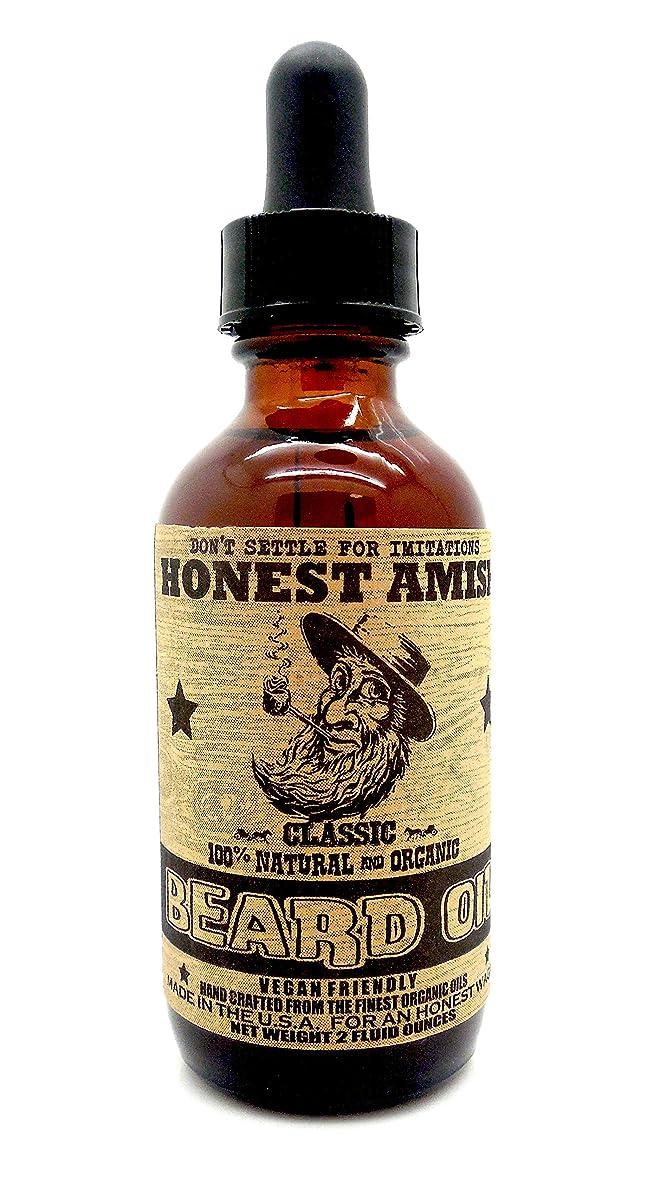 異邦人過去つまずくHonest Amish - クラシック 顎髭 オイル 59.15ml