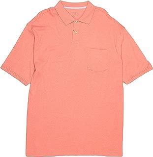 Roundtree & Yorke 100% Supima Cotton Men's Big & Tall Short Sleeve Polo Shirt