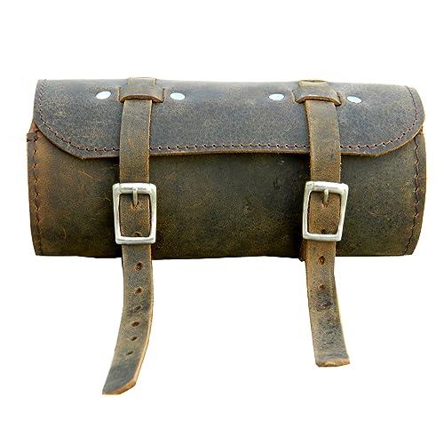Leather Handlebar Bag For Bicycle Amazon Com