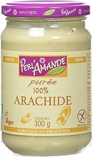 Perl'Amande Purée d'Arachide Toastée Bio 300 g - Lot de 3