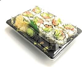 Sushi Tokyo - Sushi Tray with Lid 50 Set (#8)
