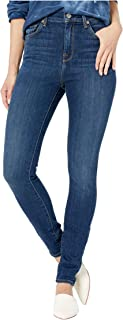 Women's High Waist Skinny in Midnight Dark