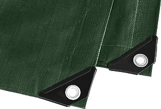 Laneetal 0930038 Telone Impermeabile per Esterno in PE 180g//m/² Rinforzato con Occhielli Copertura per Mobili 5x6m