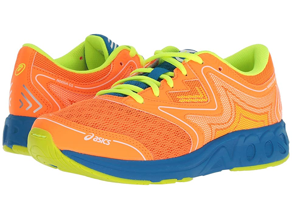 ASICS Kids Noosa GS (Little Kid/Big Kid) (Shocking Orange/Flash Yellow) Kids Shoes