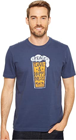 Peace, Love & Hoppiness Crusher Tee