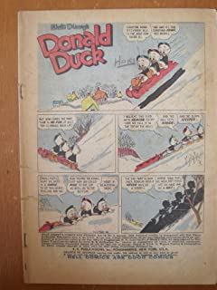 Walt Disney's Comics and Stories #208, January 1958. Donald Duck by Carl Barks