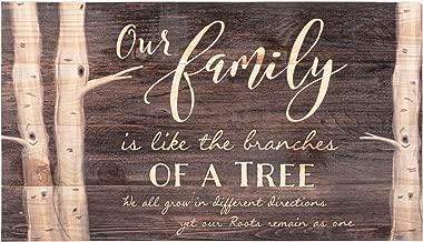 a family is like a tree