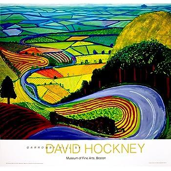 Tableaux Posters Et Arts Decoratifs Starkwall David Hockney Une Plus Grande Peinture A L Huile Abstraite Grandes Tailles Giclee Poster Impression Sur Toile Pour Peinture Murale 30x60cm Cuisine Maison Hotelaomori Co Jp