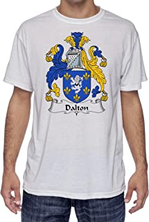 Dalton Coat of Arms-Family Crest, Moister Wicking Sports T-Shirt