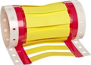 "HellermannTyton ShrinkTrak - Marcadores de alambre, Yellow, 1/2"" Min (Pack of 25)"