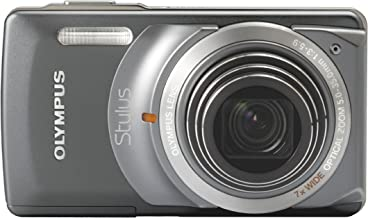 Olympus Stylus 7010 12MP Digital Camera with 7X Dual Image Stabilized Zoom and 2.7 inch LCD (Grey)