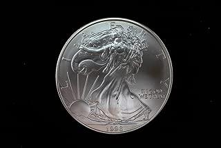 1998 American Eagle One Ounce Silver Bullion Dollar Uncirculated