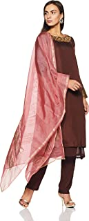 Satya Paul Women's Anarkali Salwar Suit Set