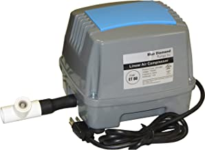 ET80 Septic Linear Air Pump w/Back Pressure Safety Valve (Maximizes Aerator Service Life)