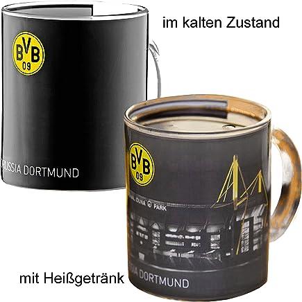 Preisvergleich für BVB 09 Borussia Dortmund Zauberglas Signal Iduna Park 0,3 l Tasse Becher 14702000