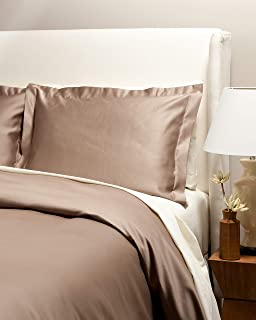 Westbury Manor 1000 Thread Count 100% Egyptian Quality Cotton 3PC Duvet Set, King Moonlight Taupe