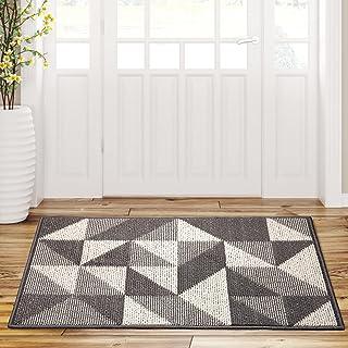 Front Door Mat Durable Welcome Mats, Low-Profile Floor Mat, Non Slip Shoe Rug Indoor Outdoor Doormat for Inside Outside Ho...