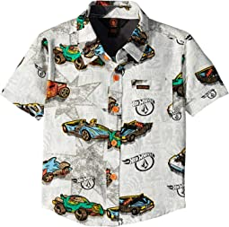 Hot Wheels® Large Collector Short Sleeve Woven (Toddler/Little Kids)