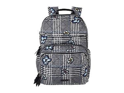 Vera Bradley Performance Twill Backpack Baby Bag (Bedford Plaid) Backpack Bags