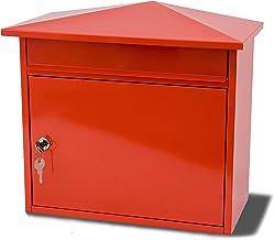 G2 Trading Company 025 Metalen brievenbus - rood